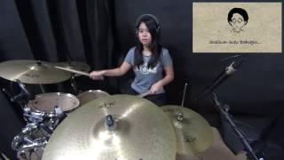 asal kau bahagia -  drum cover by Natasya