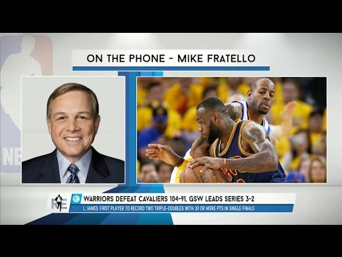 Mike Fratello of NBA TV Talks NBA Finals on The RE Show - 6/15/15