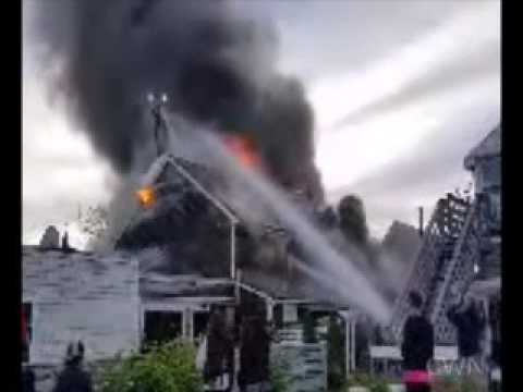 3-alarm blaze Provincetown, MA 5/27/17