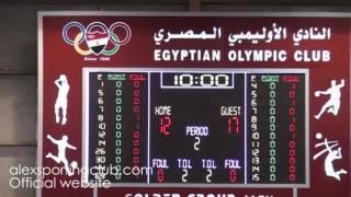 مباراة مصر و الجزائر   اليوم الرابع   البطولة العربية لكرة السلة 18 سنة