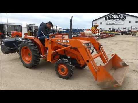 Kubota L Fel Mfwd Tractor
