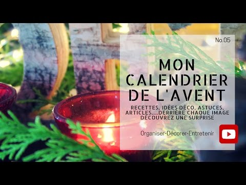Mon calendrier de l'avent interactif (Only in french)