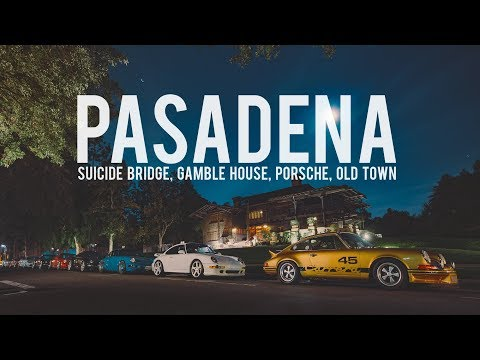 Nardo964 Photoshoot in Pasadena: Suicide Bridge, Gamble House and Old Town