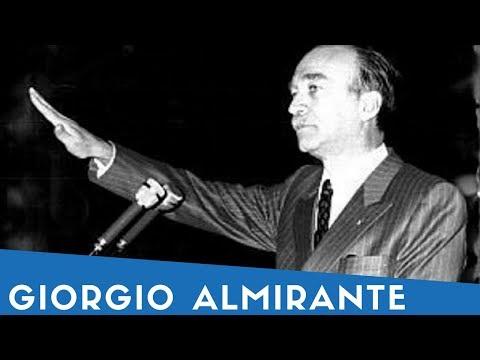 Giorgio Almirante in 8 sue frasi (+ mini biografia)