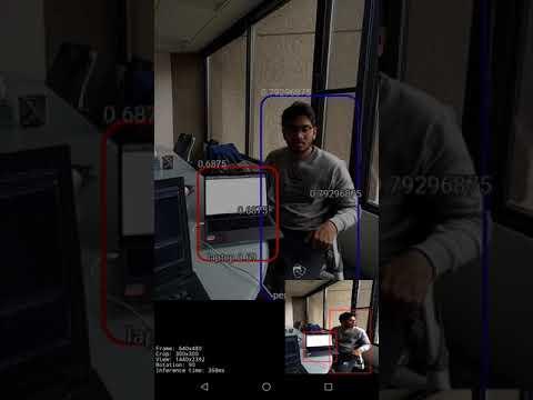 Tensorflow Lite Object Detection (Android) -- SSD-MobileNet