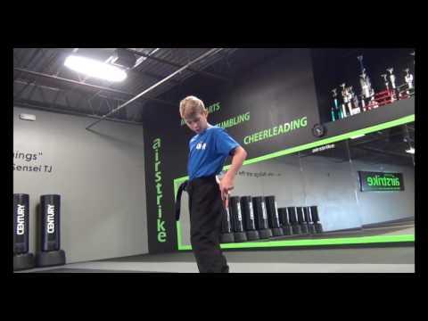 Zach Thomas Team AKA - Kama Flip Tutorial - Extreme Martial Arts - Airstrike Martial Arts