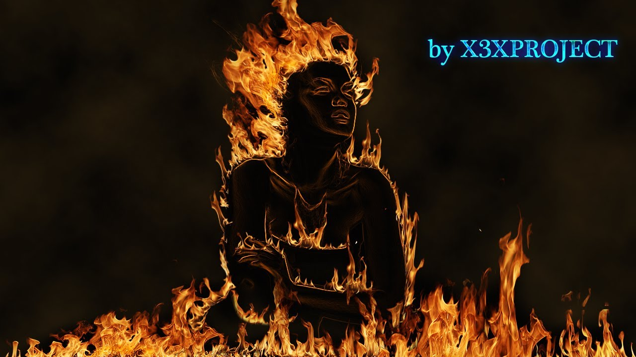 tuto photoshop cs6 femme en flammes youtube. Black Bedroom Furniture Sets. Home Design Ideas