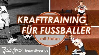 Optimales Muskeltraining für Fußballer - OHNE WERBUNG