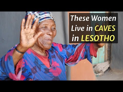 These Women Live in Caves in LESOTHO
