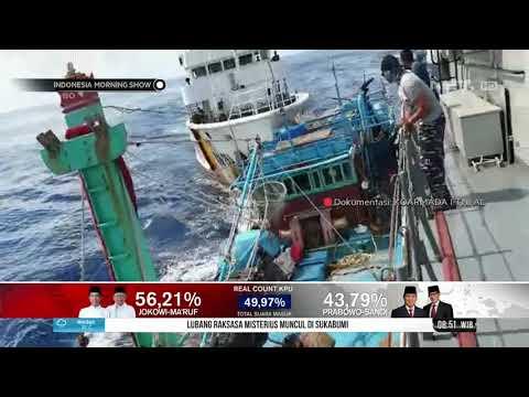 Kapal Pengawas Perikanan Vietnam Menabrak KRI di Laut Natuna