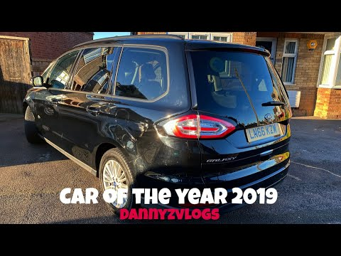 Car Of The Year 2019 - Best MPV - Ford Galaxy 2016-19