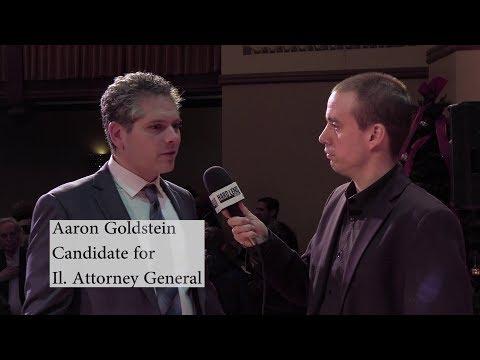 Illinois Attorney General Candidate Aaron Goldstein on money in politics