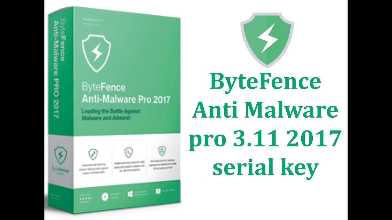 bytefence anti-malware 2017