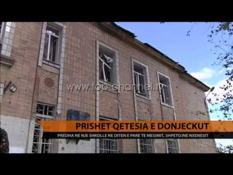 Ukrainë, sërish predha, 10 viktima në Donjeck - Top Channel Albania - News - Lajme
