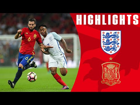 England 2-2 Spain (2016 Friendly) | Goals & Highlights
