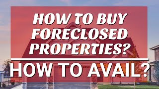 Learn how to buy a foreclosure | Simple guide for beginners |Hints, Tips, Tricks