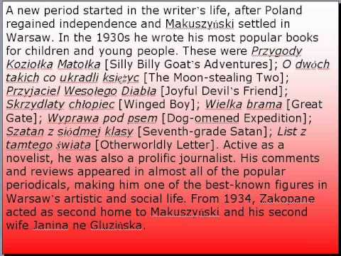 My favourite Polish writer  made by Wiktoria Jaruszewska