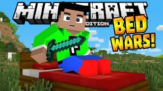 BED WARS MINIGAME in 0.14.1!!! - MCPE MiniBox Server - Minecraft PE (Pocket Edition)