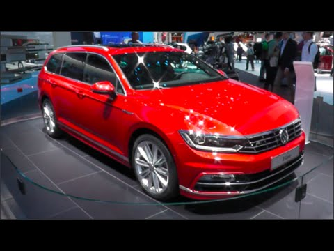 volkswagen passat variant r line 2015 in detail review. Black Bedroom Furniture Sets. Home Design Ideas