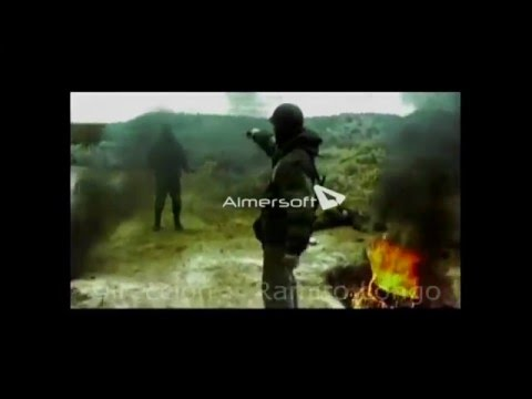 Batalla Goose Green - Muerte del Teniente Jim Barry ? - escena de corto
