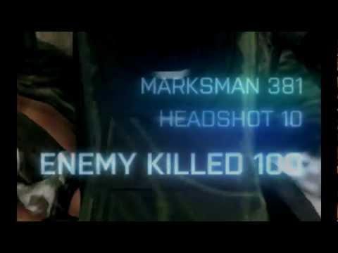 Battlefield 3 - Slow Motion 381 M Headshot - HD