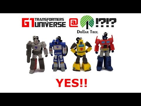 G1 Transformers Keychains Found At Dollar Tree Stores