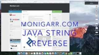 Java String Reverse  Tutorial
