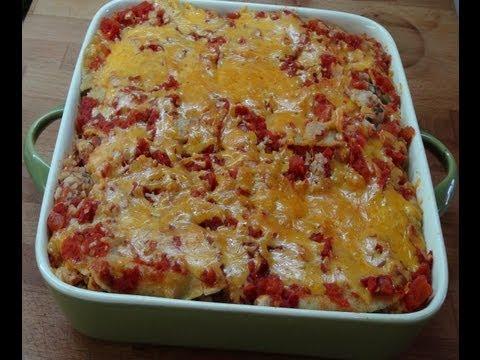 How To Make A Tex-Mex Chicken Casserole
