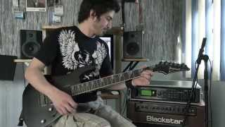 Racer X - Technical Difficulties - Guitar performance by Cesar Huesca (HD)