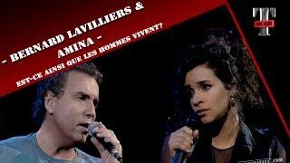 """Bernard Lavilliers / Amina """"Est-ce ainsi que les hommes vivent ?"""" - Taratata N°1 (10 Janvier 1993)"""