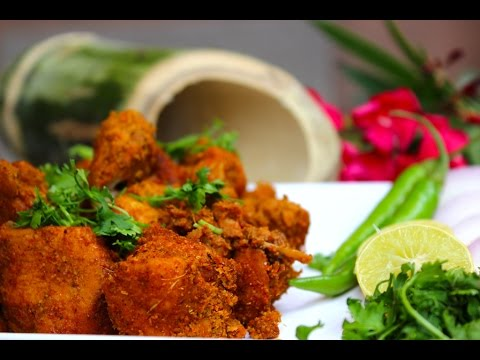 Andhra special Bamboo chicken-tribal food