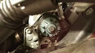 Замена помпы за 2часа. Volkswagen Passat B6 1.8 tsi. Skoda Oktavia 2 1.8 tsi