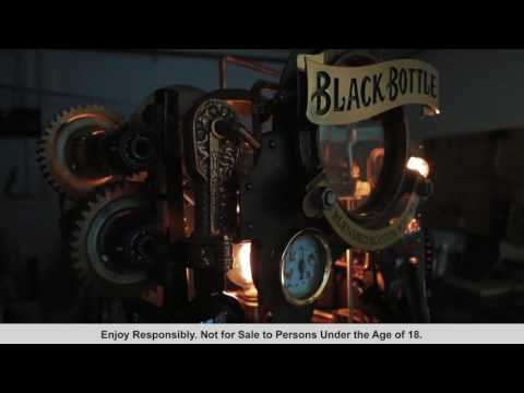 Black Bottle Steam Punk Whisky Machine