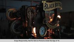 Black Bottle Steam Punk Whisky Machine