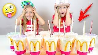 видео: Не выбирай Макдональдс Смузи слайм челлендж  Лизун из случайных Ингредиентов Slime Challenge