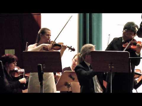 Johann Seb. Bach: Doppelkonzert d-moll BWV 1043