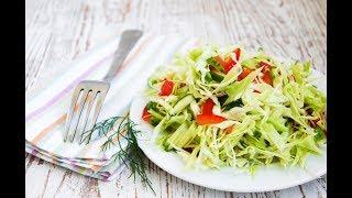 САЛАТ овощной «Мономах»👍 Простой рецепт! ОЧЕНЬ вкусно👍