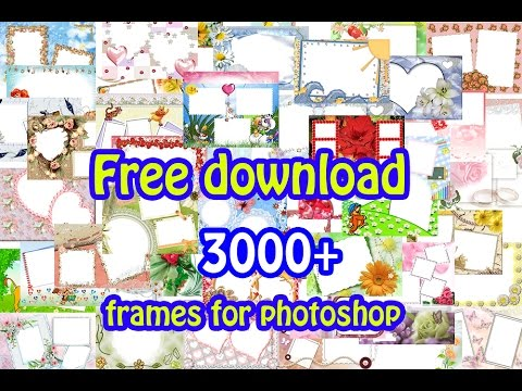 Free Download Frames For Photoshop Youtube