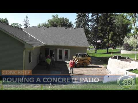 Concrete Patio Contractors MN - How To Build A Concrete Patio