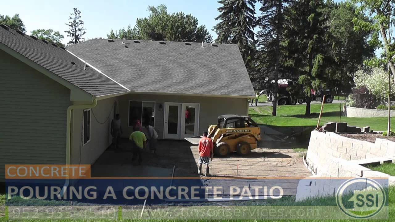 How to build a concrete patio home design ideas and pictures for Concrete home contractors