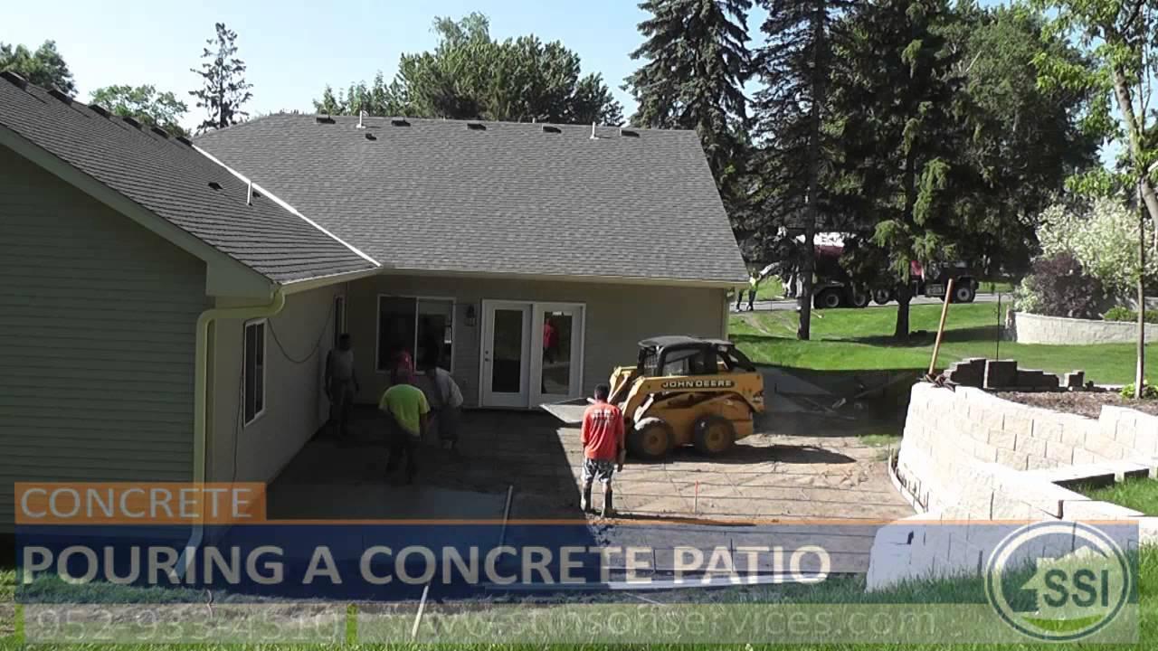 Concrete Patio Contractors Mn  How To Build A Concrete