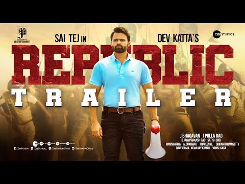 Republic   Trailer   Sai Tej   Aishwarya Rajesh   Jagapathibabu   Ramya   Deva Katta   Oct 1st