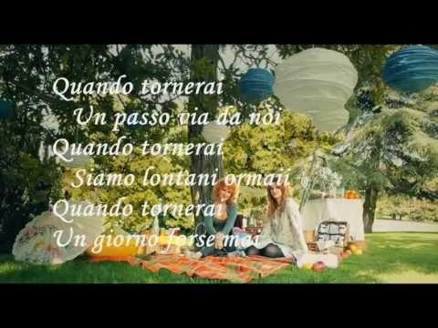 Mille passi Chiara Galiazzo feat Fiorella Mannoia Karaoke (Base al piano con testo)