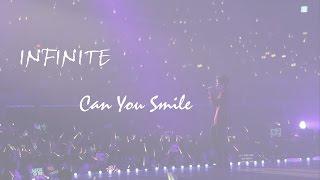 【特效中字】INFINITE Can U Smile .Live