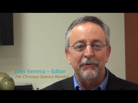 Author Talk: John Yemma introduces Keith Collins and his book on The Christian Science Monitor