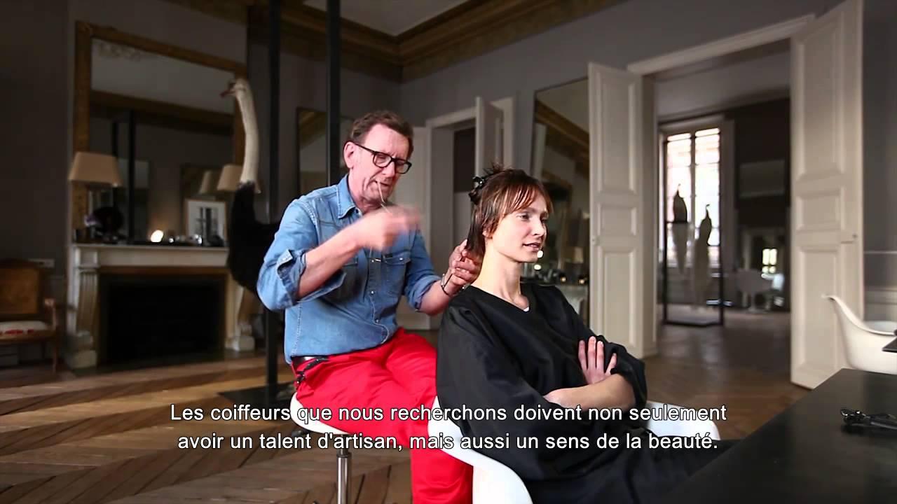 Visite dans le salon parisien du coiffeur david mallett for Le salon du coiffeur