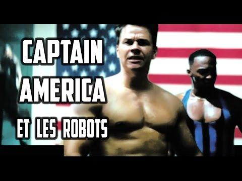 Captain America et les Robots ® parodie mozinor
