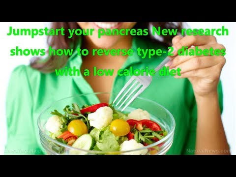 Jumpstart your pancreas New research shows how to reverse type 2 diabetes with a low calorie diet
