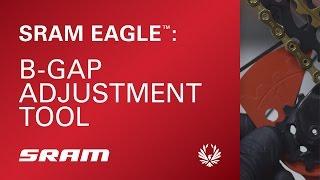 Chain Gaps Adjustment Gauge Tool for SRAM Eagle GX NX 12 Speed Rear Tool OBO