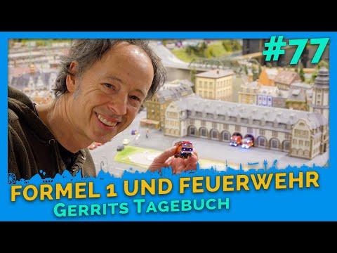 Formula 1 LIVE update & new fire station: Gerrit's diary # 77 - Miniatur Wunderland